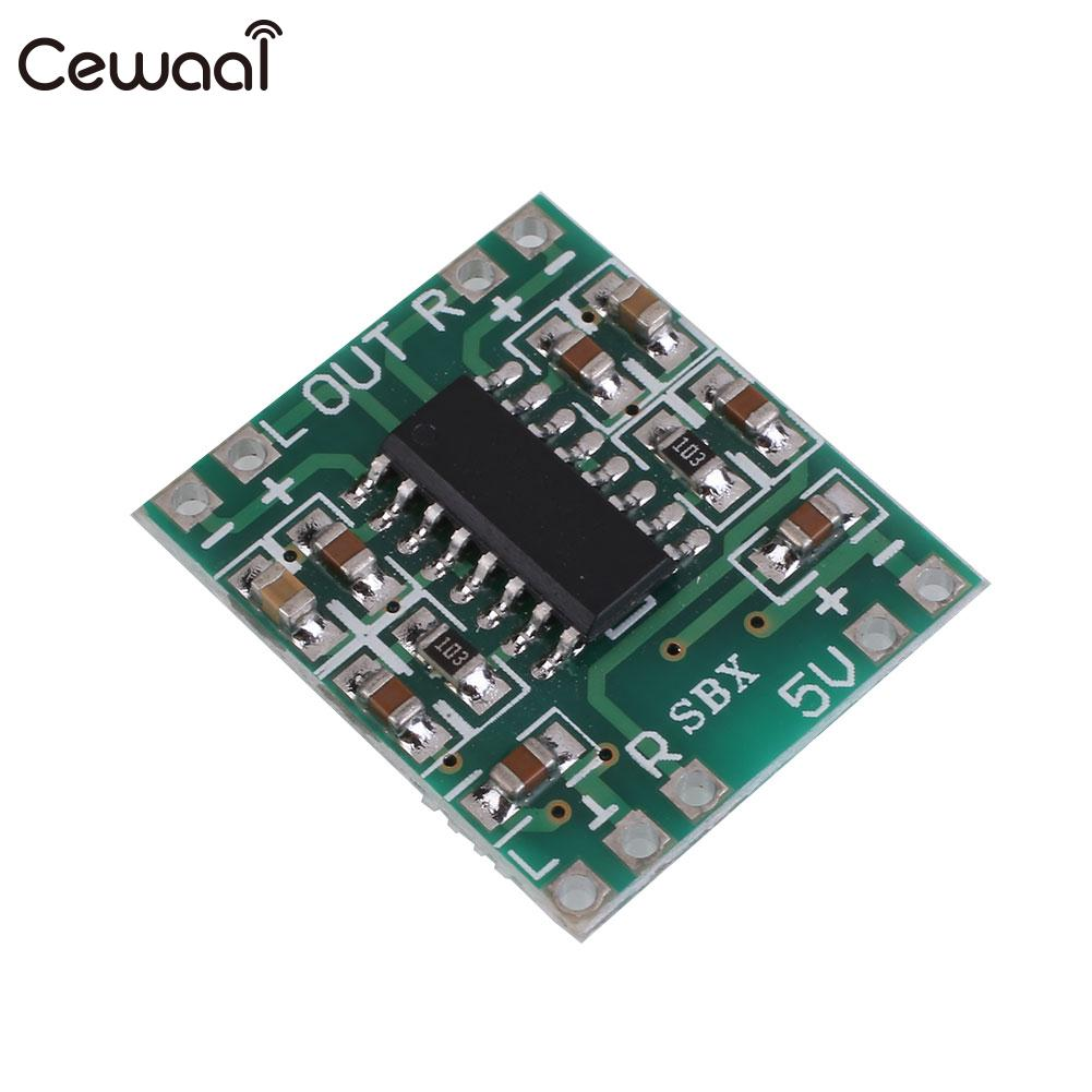 Hot Sale 2x3w Pam8403 Audio Module Digital Amplifier Amp Board Class Dc Semiconductors And Electronics In An Easy To Understand D 25 55v Green