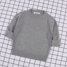 2018 Autumn Baby Boys Girls o-neck Sweaters Sweater Kids For Winter Knitted Bottoming Vetement Enfant
