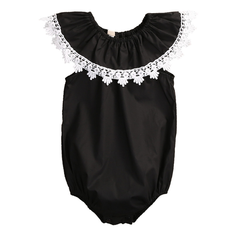 Newborn Infant Baby Girl Lace Cotton Clothes Clothing Cotton Romper Jumpsuit Sunsuit Outfits Set Drop Ship new arrival boy costumes rompers cotton newborn infant baby boys romper jumpsuit sunsuit clothes outfits