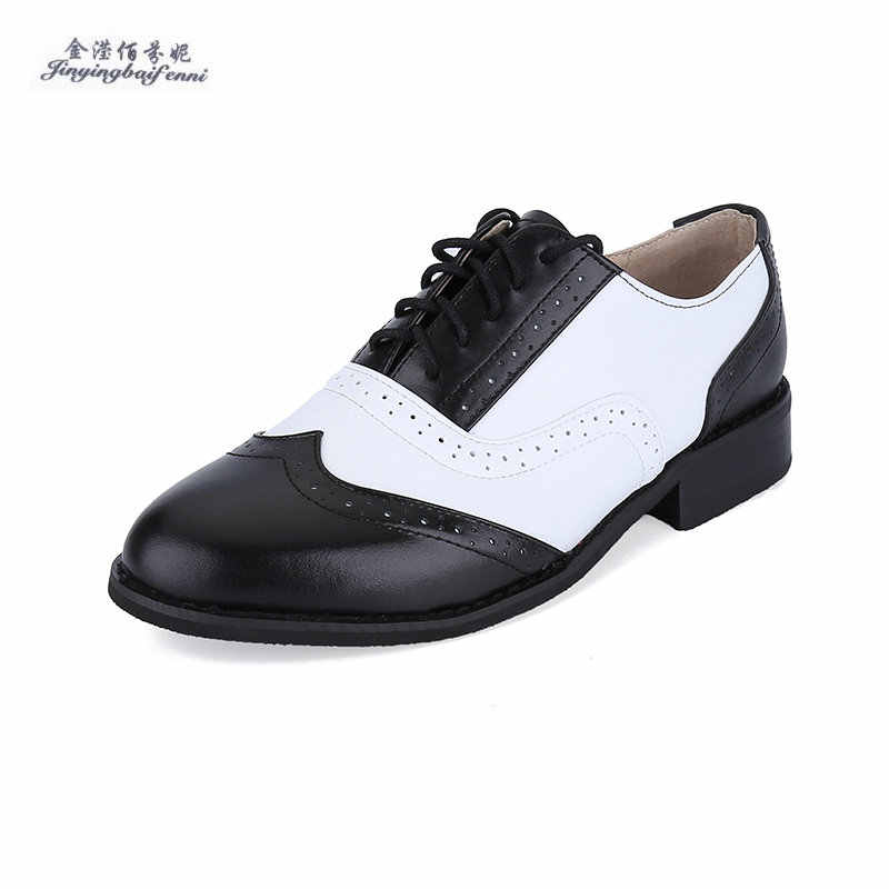 99f705b4326 Мужские туфли-оксфорды из натуральной кожи черного и белого цвета