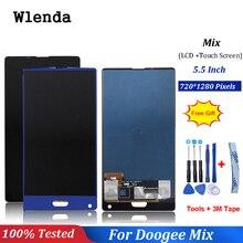 Noir/bleu pour 5.5 pouces Doogee mix LCD affichage + écran tactile numériseur assemblée pièces de rechange 100% Original nouveau