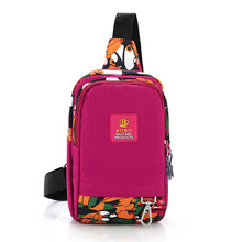Vintage 100% Nylon Women bags Travel fashion Messenger Fashion Shoulder bags Cross Body Sling Chest Pack Casual Bag