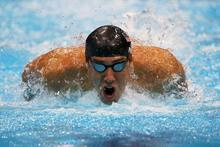 Michael Phelps Swim Sports Silk Cloth Poster 36″ x 24″  20″x13″–005