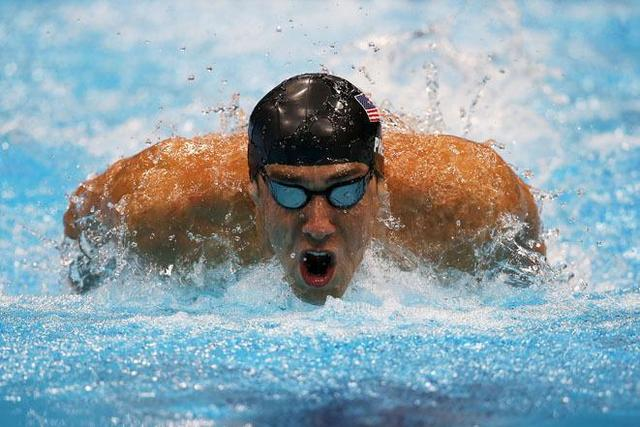 Michael Phelps Swim Sports Silk Cloth Poster 36″ x 24″  20″x13″–005