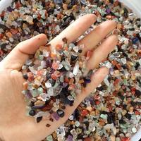 1000g Natural Crystal Color Mix Natural Quartz Crystal Rough Polished Gravel Specimen Natural Stones And Minerals