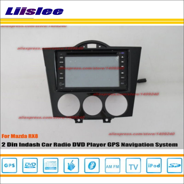 liislee for mazda rx8 rx 8 2003 2008 radio cd dvd player gps navi rh aliexpress com RX-8 Leather Seats BMW Navigation