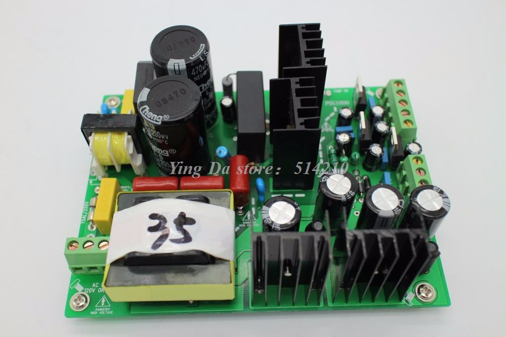 500W +/-35V amplifier dual-voltage PSU audio amp switching power supply board for DIY 1000w 90v llc soft switching power supply high quality hifi amplifier psu board diy