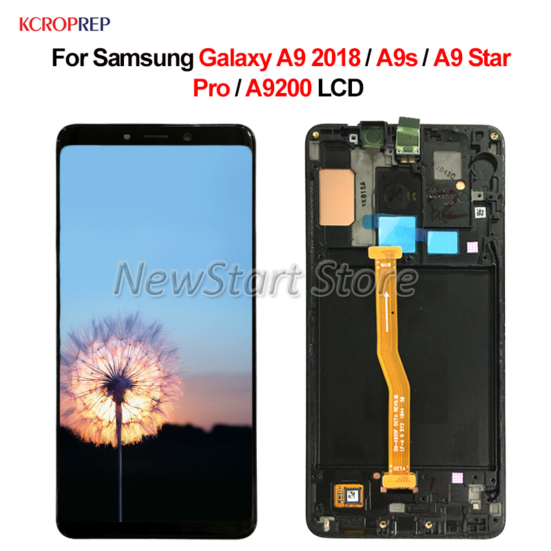 For Samsung Galaxy A9 2018 A9s A9 Star Pro A9200 LCD Display Touch Screen Digitizer Assembly No Frame 6.3 For Samsung A9200 lcdFor Samsung Galaxy A9 2018 A9s A9 Star Pro A9200 LCD Display Touch Screen Digitizer Assembly No Frame 6.3 For Samsung A9200 lcd