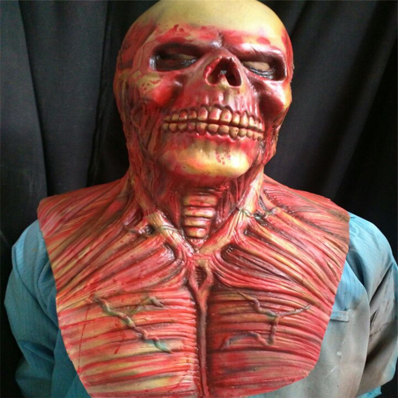 Top Grade Super Scary Devil Zombie Mask Halloween Cosplay