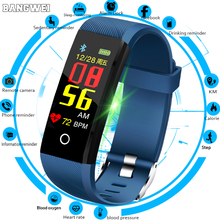 BANGWEI Smart Watch Men Heart Rate Blood Pressure Monitor Women Fitness Tracker Waterproof Sports For Android IOS+Box