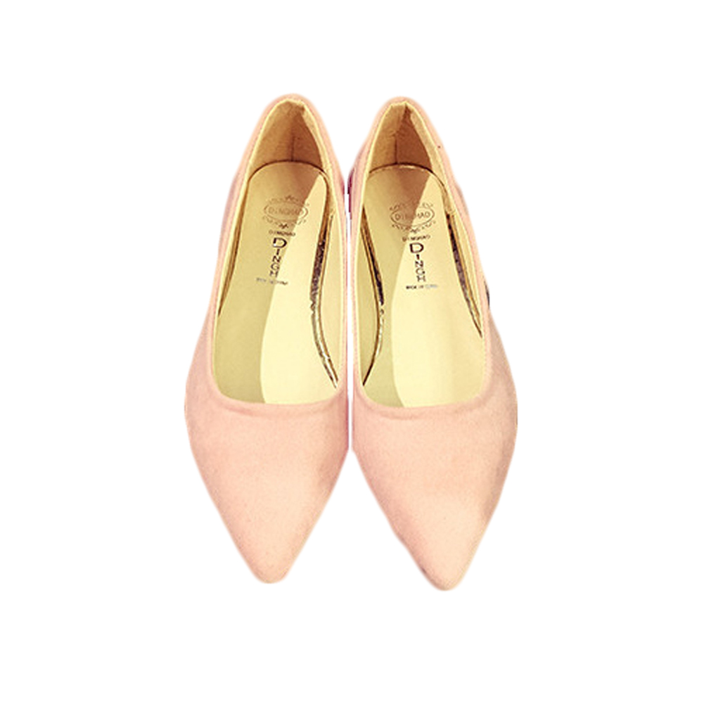 New Women Ballet Flats Shoes Pointed Toe Flats Sweet Loafers Slip On Pregnant Flat Shoes Single Boat Shoes Women Shoes
