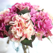 Artificial Hydrangea Flower DIY Silk Accessory christmas for Party Home Wedding Decoration Mariage Fake Peony Flowers