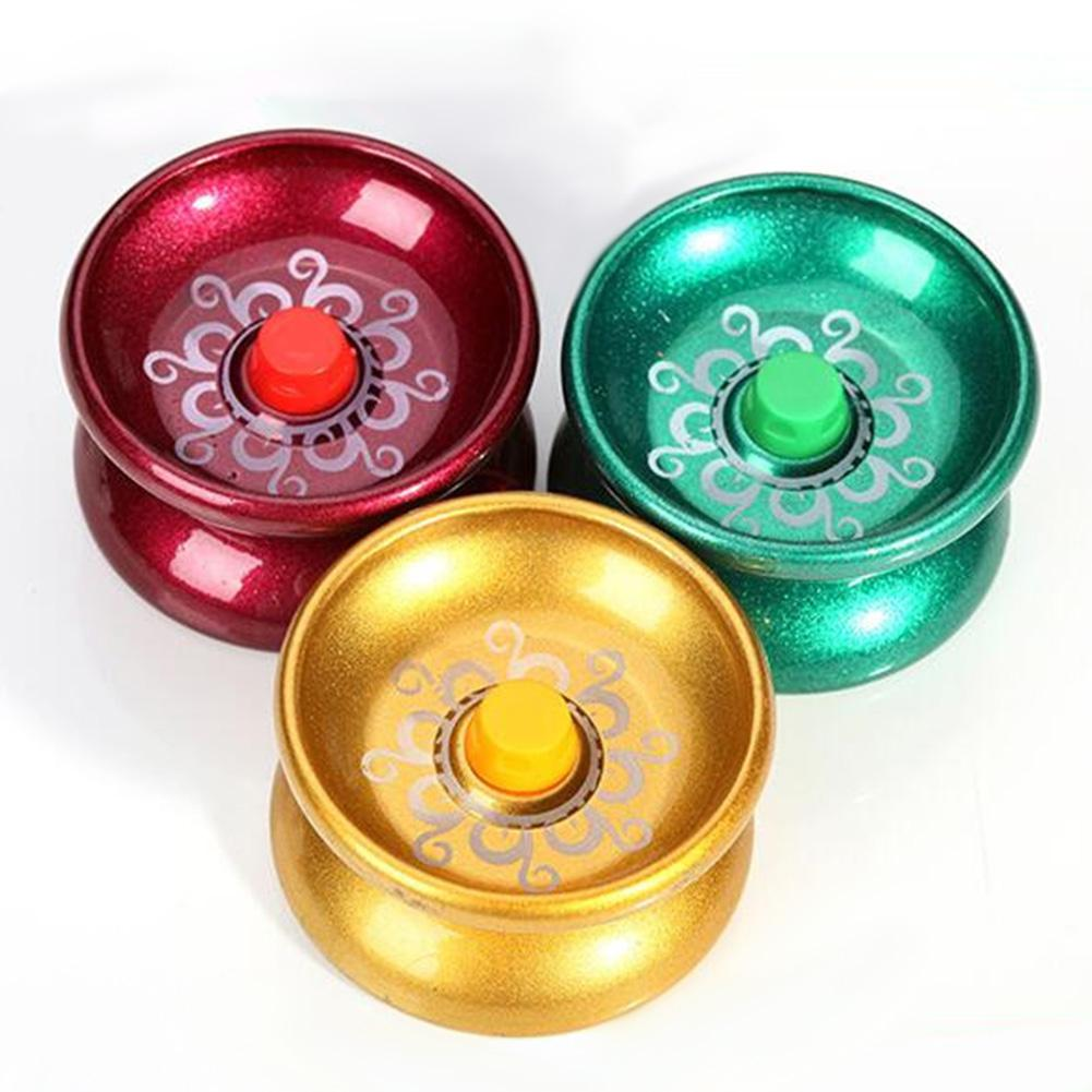LeadingStar Cool Alloy Aluminum Design Yoyo High Speed Professional YoYo Ball String Trick Yo-Yo Kids Magic Juggling Toy