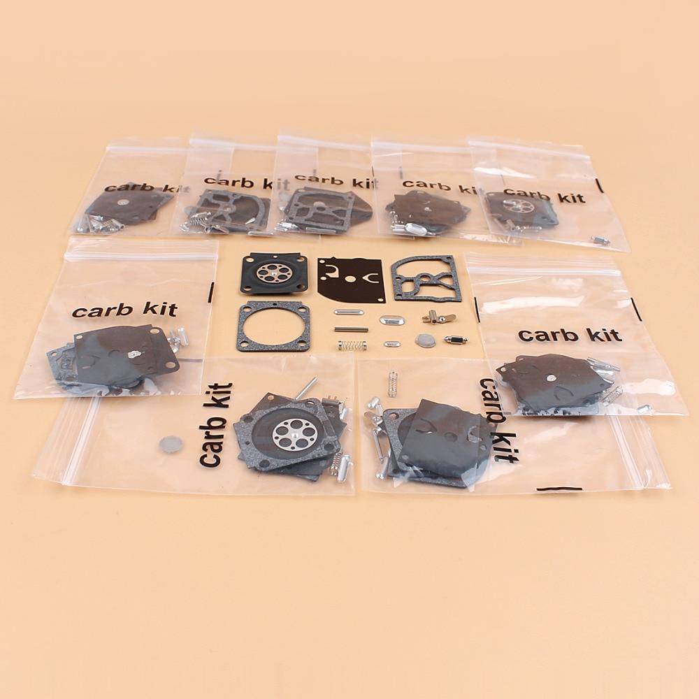 68 10pcs / ערכת תיקון קרבורטור הרבה עבור BG85 BG65 BG45 STIHL FH75 FC75 HT75 HL75 מפוח גוזם זאמה C1Q-68 פחמימות RB-99 (3)