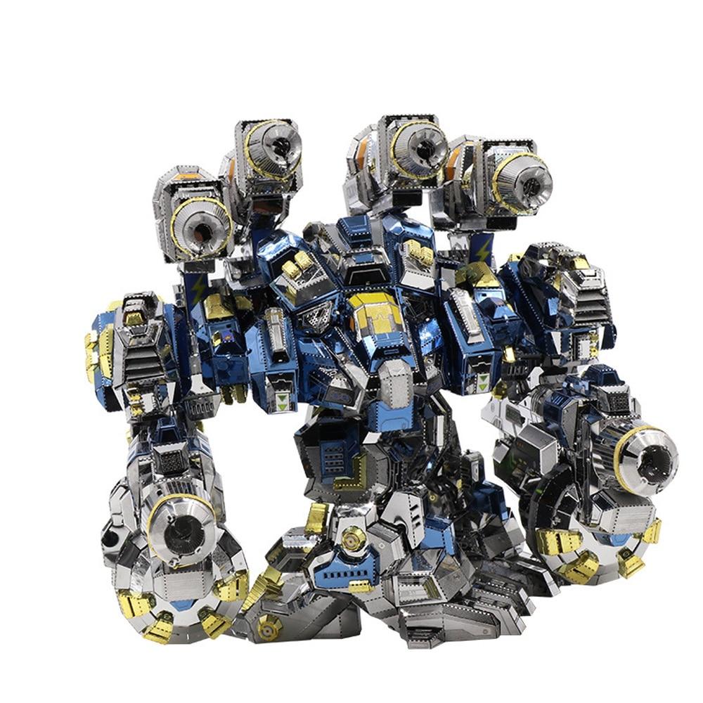 MU Start Craft 2 Thor Odin Armor DIY 3D Metal puzle ensamblar modelos Kits corte láser rompecabezas juguetes YM N020-in Kits de construcción de maquetas from Juguetes y pasatiempos    1