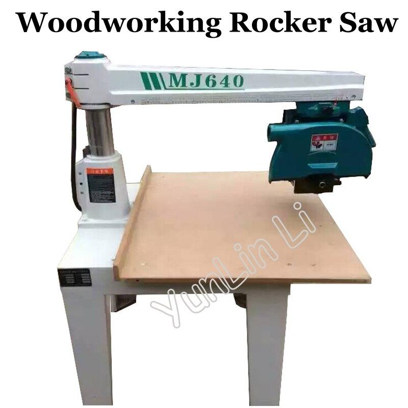 Woodworking Rocker Saw Circular Radial Arm Saw Machine Electric Cutting Machine Power Tools MJ640