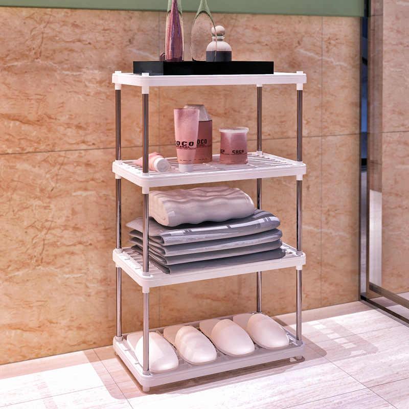 Estante de almacenamiento de plástico multifuncional Magic Union estante de 2/3/4 capas estante de cocina/baño/sala de estar estante de pie
