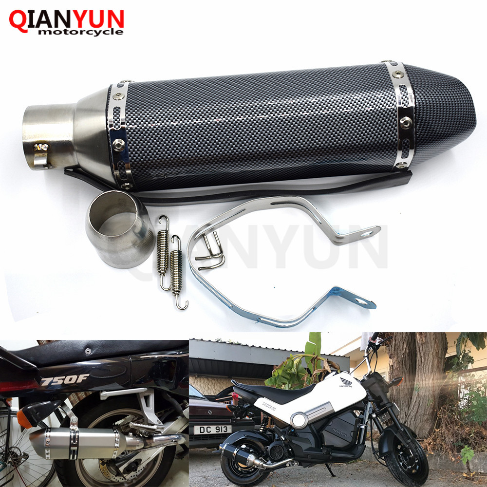 for Motorcycle parts Exhaust Universal 51mm Stainless Steel Motorbike Exhaust Pipe For Triumph TIGER 800 XC