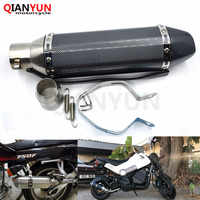 for Motorcycle parts Exhaust Universal 51mm Stainless Steel Motorbike Exhaust Pipe For Triumph TIGER 800 XC XR XCX 15-16