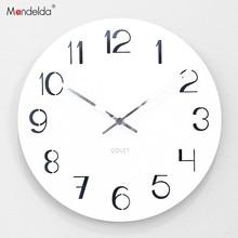 Mandelda Wall Clock Living Room Modern Simple Watch Bedroom Mute Creative Personality