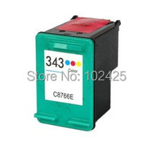1x For HP 343 Colour Remanufactured Ink Cartridge Photosmart 325 Printer