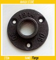 "6pcs/Lot 3/4"" Casting  Iron Pipe Flange With Three Bolt Holes DN20 Iron Flange Free Shipping"
