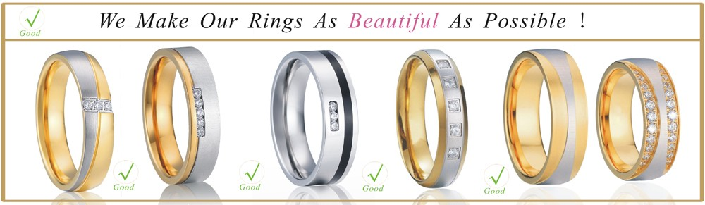 a661ac7dce Nº8mm wedding band titanium steel gold colour ring for men - a343