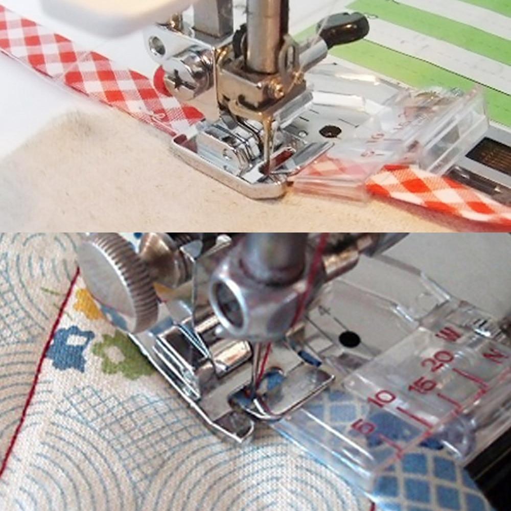 Adjustable Bias Tape Binding Presser Foot Feet For