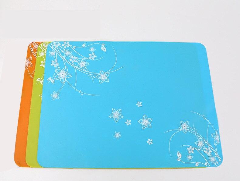 Comprar Barato 40x30 Mantel De Silicona De Impresión Para Mesa De Niños Posavasos De Aislamiento Almohadilla De Ordenador Portátil De Alta Temperatura Y Fácil Para Limpiar úLtima Moda