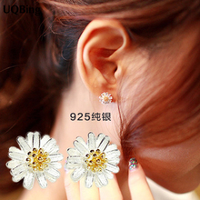 Free Shipping Fashion 925 Sterling Silver Stud Earrings Jewe