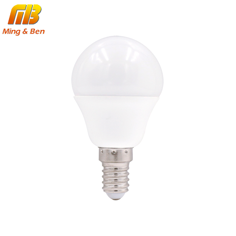 [MingBen] LED E14 Lamp LED Bulb 9W 5W 3W AC 220V 230V 240V Lampada Cold White Warm White LED Spotlight For Table Lamp Light Bulb e27 12 led 3500k 60 lumen light bulb warm white 180 240v ac