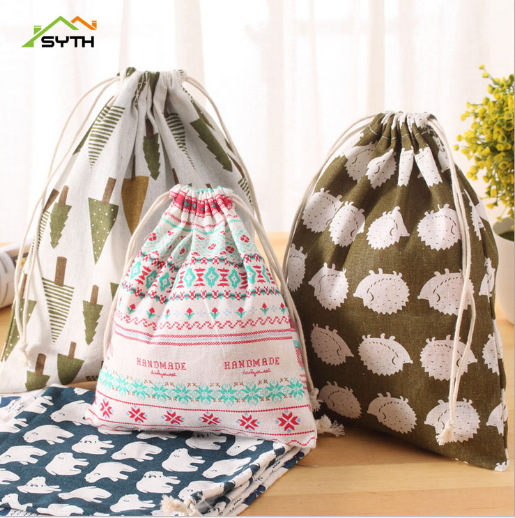 And, For, Drawstring, Size, Material, Cotton