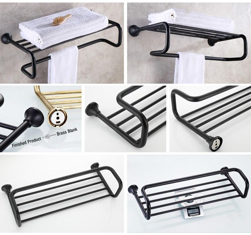 towel rack black 3