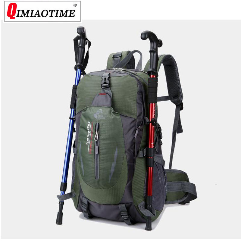 large capacity waterproof outdoor travel bag casual sports bag 40L multi function mountaineering backpack weekend duffle bag