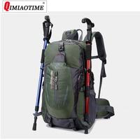 large capacity waterproof outdoor travel bag casual sports bag 40L multi function mountaineering backpack weekend duffle bag