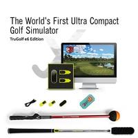 Tittle Golf swing Simulator aids Air Golf Pack, Trugolf E6 Edition