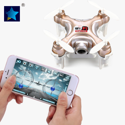Cheerson CX-10WD RC Mini Drone With Camera FPV Wifi Remote Control Helicopter toys hobbies