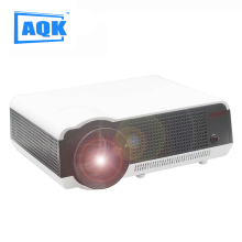 Free 100inch screen HD LED LCD Projector 1280*800 Resolution Multimedia Theater Home Ciname 5500 Lumens  projector