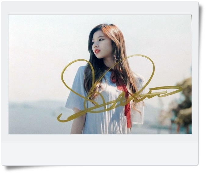 signed TWICE SANA autographed photo  4*6 inches  freeshipping  072017