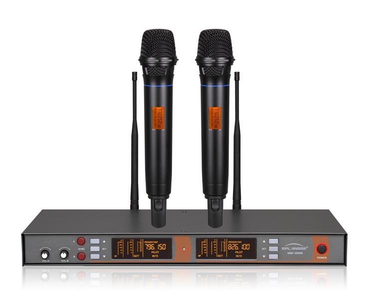 pro black uhf diversity wireless handheld mike mic microphone system ir digital new design. Black Bedroom Furniture Sets. Home Design Ideas
