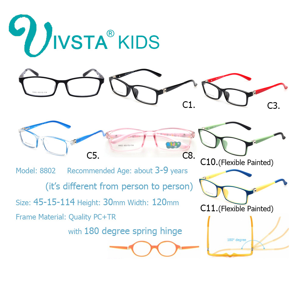 IVSTA Gafas para niños Gafas para niños TR Marcos de gafas - Accesorios para la ropa - foto 2