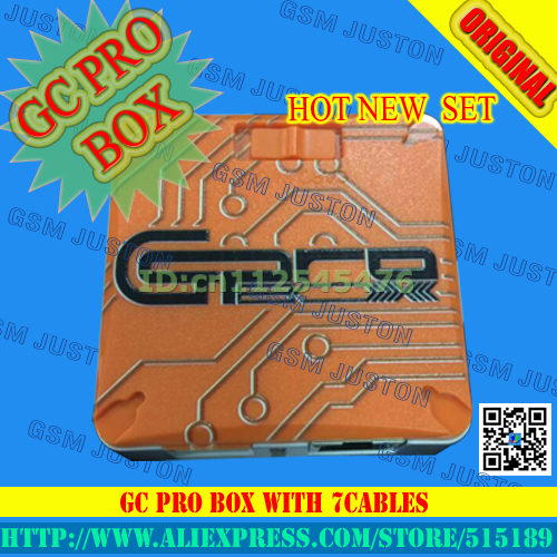 Newest Verison GC Pro Box GC PRO BOX GcPro Box with 8 cables For Samsung ZTE Huawei MTK CDMA