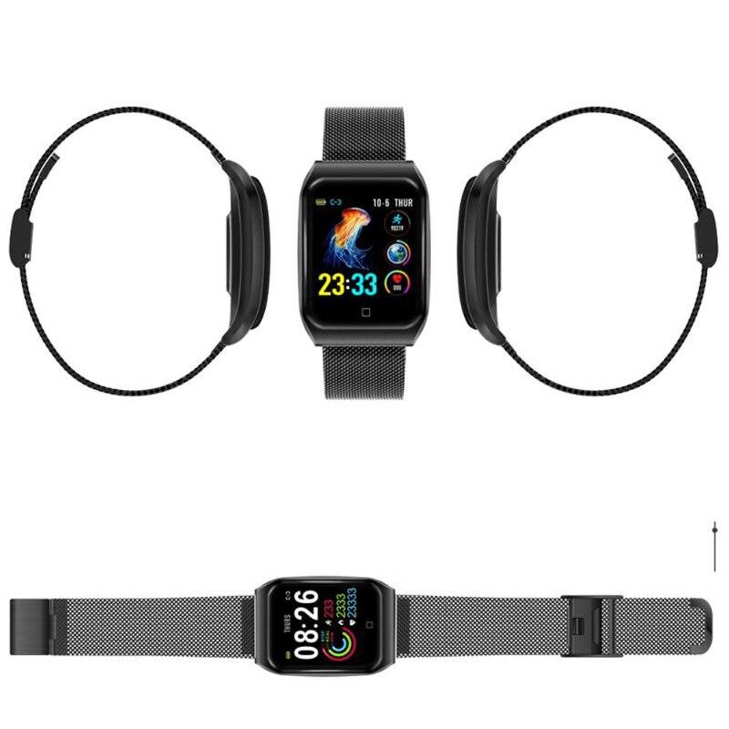Image 3 - F9 1,3 дюймов модный умный Браслет цветной экран Ip68 Водонепроницаемый Шагомер Смарт часы фитнес трекер Смарт часы-in Смарт-часы from Бытовая электроника