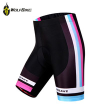 WOSAWE New Women Cycling Shorts 3D Gel Padded Bike/Bicycle Outdoor Sports Tight