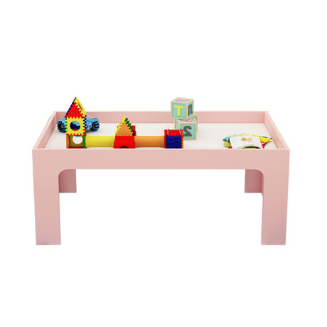 Furniture Children Tables Kids Furniture Solid Wood Color Sand Table Kids Table Kindergarten Educational Toy Board 60/80/120*60*55cm Sale