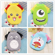 Winter Warm Cartoon style Dog Vest made of Cotton