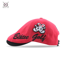 23a856e2f1d teetimes 2018 BG Style Golf ladies  Ball Cap White Red Color Women Solid  Cotton Hat