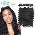 Bloomy Hair Tatyana Wstco Brazilian Virgin Hair Deep Wave4 Bundls a lot Cheap Human Hair Weave On Sale