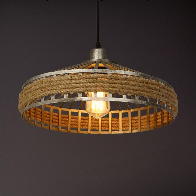 Affordable Elegant Free Rustic Rope Lamp Retro Lampe Vintage Light Style  Loft With Retro Lampe With Lampe Vintage With Vglampe Retro