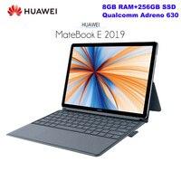 HUAWEI MateBook E 4G Tablet Notebook 12.0 Inch Laptop Windows 10 Qualcomm SDM850 8GB RAM 256GB SSD Fingerprint Sensor